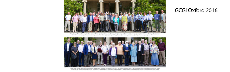 2016 Oxford Conference Participants